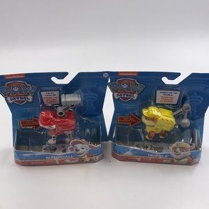 New paw patrol talking marshall and rubble figures
